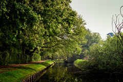 Path By The Canal Royalty Free Stock Images