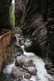 Path through canyon Royalty Free Stock Photos