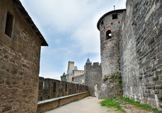 Carcassonne  fortress Stock Photography