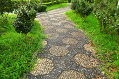 Path in chinese garden Royalty Free Stock Photography