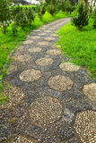 Path in chinese garden Stock Photography
