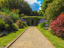 Path in Cloudehill gardens. In Olinda, Victoria, Australia Stock Photos