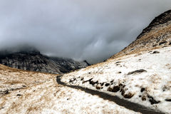 Path into the Clouds. Beautiful Mountain Loser in Austria, nature pure Royalty Free Stock Photography