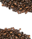 Path in coffee Royalty Free Stock Image