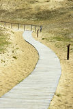 Path through the dunes Royalty Free Stock Image