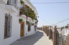 Path foot in Mijas Stock Images