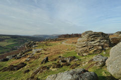 A path on Froggatt Edge Stock Photos
