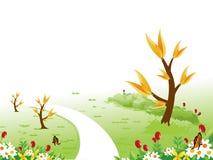 A path through the garden Royalty Free Stock Image