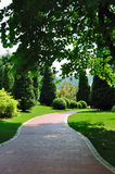 Path in garden 4913 Stock Photos
