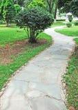 Path in a garden Royalty Free Stock Photos