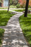 Path through the garden Stock Photos