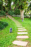 The path in the garden. Stock Photography