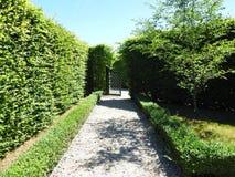Beautiful Rundale palace park, Latvia Royalty Free Stock Photo
