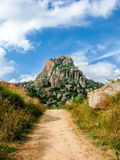 A path into the hills. Royalty Free Stock Photos