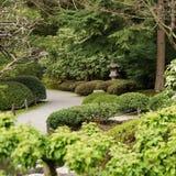 Path. A path through a Japanese garden Stock Photos