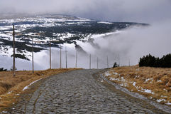 Path in Krkonose Stock Photography