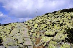 Path in Krkonose Stock Photo
