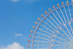 Path of large ferris wheel Stock Images