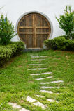 Path lead the door 2 Royalty Free Stock Image