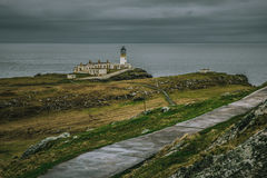Path leading to Neist Point Lighthouse Stock Photos