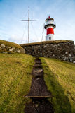 Path leading up to Skansin lighthouse Royalty Free Stock Photo