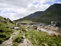 Path by Levers Water, Coniston Royalty Free Stock Image