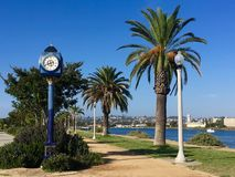 Path at Liberty Station. Walkway in the park at Liberty Station in San Diego, California royalty free stock images