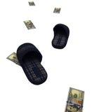 A path made of money Stock Photos
