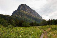 Path by Mt. Grinnell Stock Photos