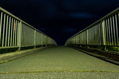 Path by night Stock Photography
