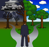 Path_not_taken_02 Royalty Free Stock Photo
