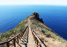 Path into the ocean Royalty Free Stock Photos