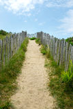 Path over a sand dune. Royalty Free Stock Photography