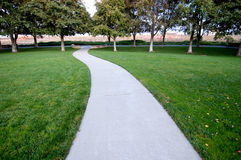 Path in a Park Stock Photos