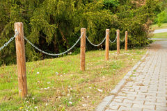 Path in the park Royalty Free Stock Photos