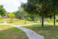 Path Through the Park Royalty Free Stock Photography