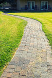 Path through the park Royalty Free Stock Photo
