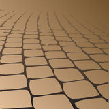 Path paved paving slabs. Royalty Free Stock Photography