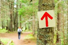 Path pointer Royalty Free Stock Photography
