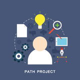 Path project Stock Photography