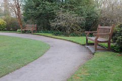 Path in a Public Park Stock Images