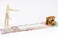 Path of revenue (money). Stock Photos