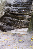 Path in rocks Royalty Free Stock Images