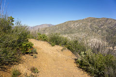 Path through San Gabriel Mountains Stock Photo
