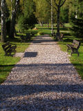 Path in square Royalty Free Stock Photo