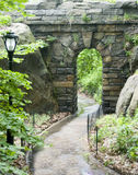 Path through Stone Arch  Royalty Free Stock Images