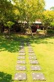 Path of stone tiles Royalty Free Stock Photo