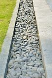 Path of stones polished by sea Royalty Free Stock Images