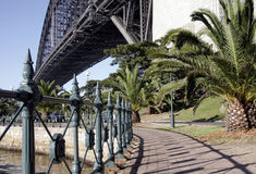 Path At The Sydney Harbour Bridge Royalty Free Stock Photo