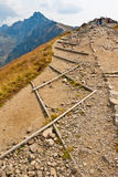 Path in Tatra mountains Stock Images